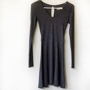 Gray Dress Hollister Long Sleeves XS